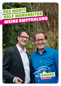 Postkarte Res und Ralf